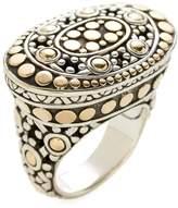 John Hardy Women's Jaisalmer Dot Gold & Silver Ring