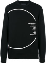Diesel Black Gold printed sweatshirt - men - Cotton/Spandex/Elastane/Lyocell/Rayon - S