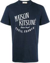 MAISON KITSUNÉ Palais Royal T-shirt - men - Cotton - S