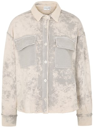 Cotton Citizen Brooklyn tie-dyed cotton jacket