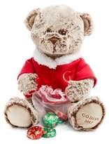 Godiva Teddy Bear with Chocolate Medallions