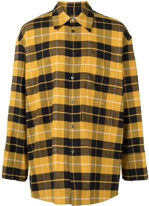 Wooyoungmi Oversize Plaid Shirt