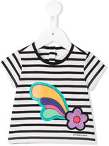 Burberry striped T-shirt - kids - Cotton - 6 mth