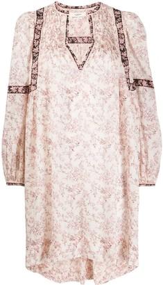 Etoile Isabel Marant Floral Print Shift Dress
