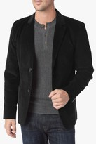 7 For All Mankind Corduroy Blazer In Black