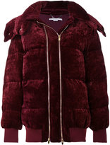 Stella McCartney velvet puffer jacket