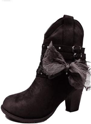 Pierre Dumas Lowcut Cowgirl Booties