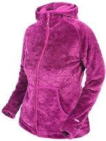 Trespass Lux Velvet Cut-Patterned Fleece Jacket