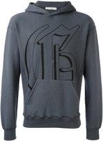 Golden Goose Deluxe Brand logo print hoodie - men - Cotton/Spandex/Elastane - M