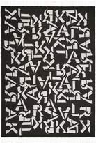 Karl Lagerfeld Alphabet Throw Monochrome