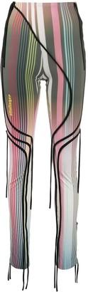 Ottolinger Striped Print Skirt Trousers