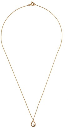 As 29 18kt yellow gold Mye pear beading diamond necklace