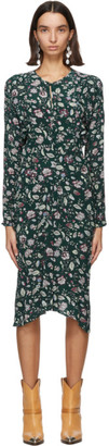 Isabel Marant Green Kelky Dress