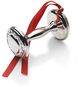 Mikasa Empire SilverTM Sterling Baby Rattle Ornament