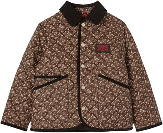 Burberry Printed Quilted Nylon Jacket