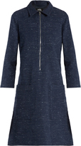 A.P.C. Zira cotton and linen-blend dress