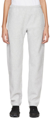 Champion Reverse Weave Grey Logo Lounge Pants