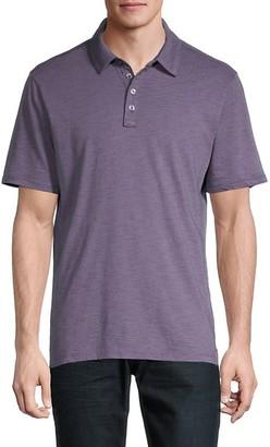 Robert Barakett Spread Collar Cotton Polo