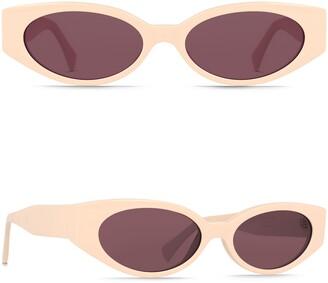 Raen Tongue 54mm Oval Sunglasses