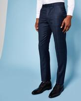 Debonair wool suit trousers