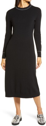 Halogen Long Sleeve Sweater Dress