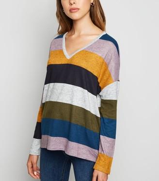 New Look JDY Light Stripe Long Sleeve Top