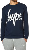 Hype Script Crewneck Sweatshirt