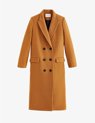 Claudie Pierlot Gantiane wool and cashmere-blend coat