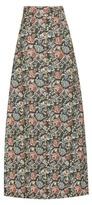 Miu Miu Jacquard maxi skirt