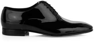 HUGO BOSS Patent Leather Evening Oxfords
