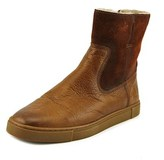Frye Bianca Round Toe Leather Boot.