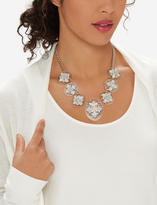 The Limited Clear Floral Statement Necklace