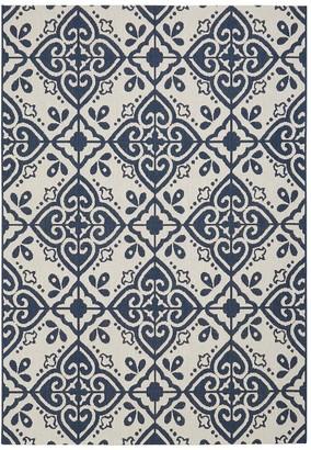 Moroccan Tile Flatweave Rug