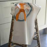 Lottie Day Screenprinted Lobster Tea Towel