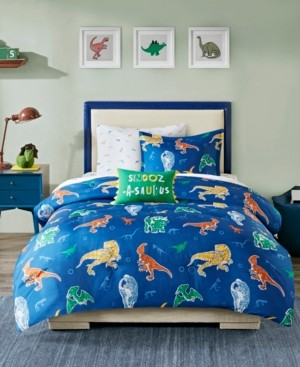 Mi Zone Kids Logan Twin 6 Piece Complete Bed and Sheet Set Bedding