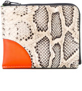 Kenzo Kurved colour-block wallet - women - Leather - One Size