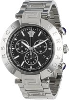 "Versace Men's VA8020013 ""Reve"" Stainless Steel Watch"