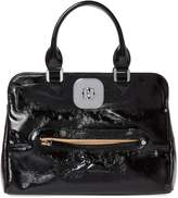 Longchamp Women's Gatsby Medium Patent Leather Convertible Tote