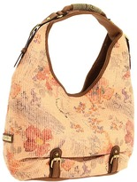 Jessica Simpson Obsession Large Hobo (Floral Straw) - Bags and Luggage