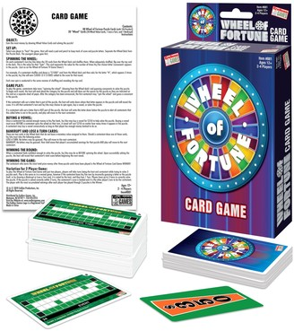 Wheel Of Fortune Card Game by Endless Games