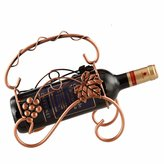 Bopm Sleek, minimalist retro wrought iron wine rack
