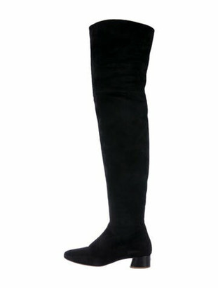 Marc Jacobs Suede Boots Black