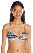Volcom Women's Free Current V Neck Bikini Top