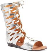 N.Y.L.A. Meekus Women's Lace-Up Sandals