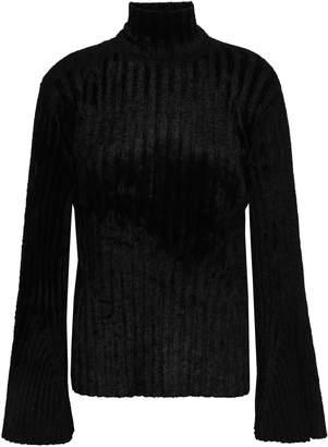 Pringle Ribbed-knit Chenille Turtleneck Sweater