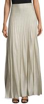 St. John Shimmer Kiklos Maxi Skirt