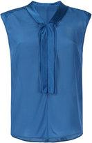 TOMORROWLAND shawl collar blouse