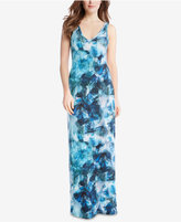 Karen Kane Sea Glass Printed Maxi Dress