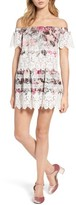 For Love & Lemons Women's Cadence Off The Shoulder Dress