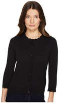 Kate Spade Rambling Roses Scallop Cardigan Women's Sweater